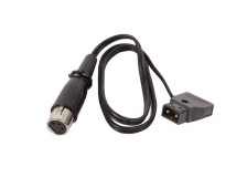 D-Tap to 4 pin XLR Cable
